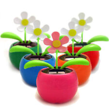 3 x FLOWER  Solar Powered Flip Flap Dancing Flower Plant