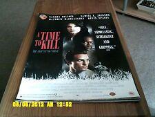 A Time To Kill (sandra bullock, samuel l jackson,m mcconnaughey) Movie Poster A2