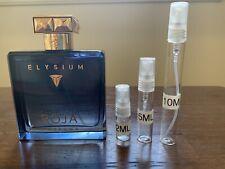 Roja Dove Elysium Parfum Cologne, 2 ml, 3 ml, 5 ml,10 ml decants + Free Sample