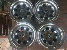 ROH Wildfire 14x7 &8 wheels polished NEW nuts caps suit Holden HQ Chev  5/120.65