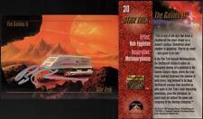 1993 Bob Eggleton SIGNED Star Trek Master Series Art Card Galileo Shuttlecraft