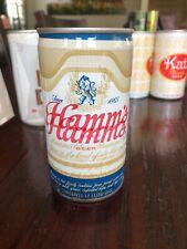 Misprint Dbl Print Hamms Pull Tab Top Beer Can Steel
