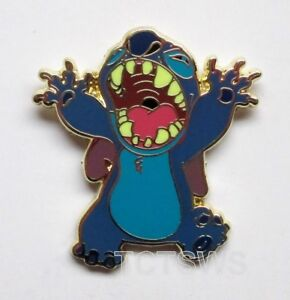 Disney Pin Stitch as Godzilla only from Booster Set Disneyland Resort Paris