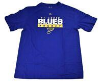 Majestic Big & Tall NHL Mens St. Louis Blues Hockey Shirt New