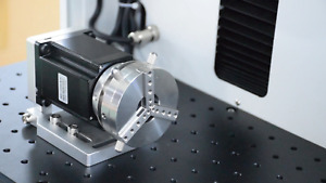 D69 L Type Rotary Axis With External Driver for Laser Marking machine for Ring