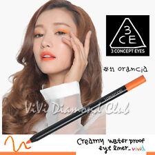 Korean STYLE NANDA 3CE 3 CONCEPT EYES Creamy Waterproof Eyeliner #11 ORANCIA