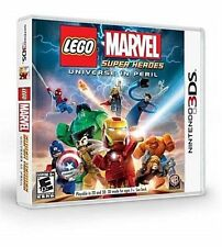 LEGO Marvel Super Heroes - Universe in Peril (Nintendo 3DS 2013) COMPLETE NES HQ