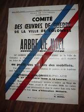 VILLE DE COLOMBES ARBRE DE NOEL 1939