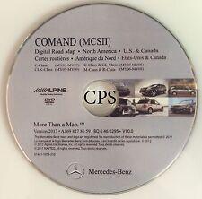2005 2006 2007 C ,CLK G, GL, M,  R CLASS Navigation DVD 0295 Map Update 2013