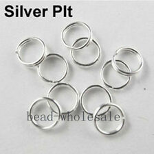 Wholesale  200-450 Pcs Metal Split Rings 4/5/6/8/10/12mm For Jewelry Making DIY