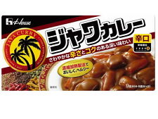 Curry paste Japanese House java Curry Hot  yummy yummy!!!