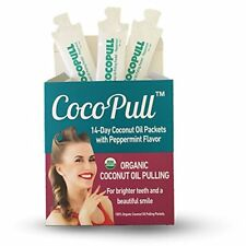 Cocopull Coconut Oil Pulling for Teeth Whitening, Fresh Breath and Healthy Gums