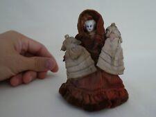 Antique Miniature Bisque Dollhouse Doll