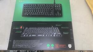 Razer BlackWidow Lite Gaming Keyboard - Orange Mechanical Switches - US Layout