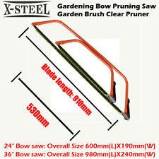 """Gardening Bow Pruning Saw Garden Brush Clear Pruner Individual 24"""" or 36"""""""