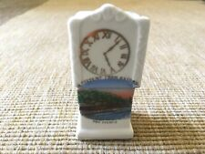 More details for vintage crested china a present from oxford the eights grandfather clock