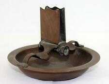 Vintage Hallmarked Copper Arts & Crafts Ashtray with Matchbox Holder