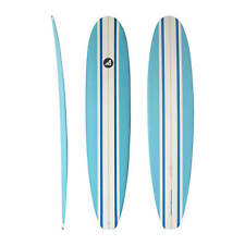 AREA51 Fun Mal 7' - 8'6 EPS/EPOXY Longboard Surfboard Blue Free Shipping