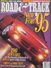 Road & Track magazine 10/1994 featuring Chevrolet, Ford, Ferrari road test