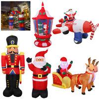 Inflatable Christmas Arch Soldier Santa Sleigh Reindeer Lantern Airplane Flying