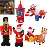 Inflatable Christmas Arch Soldier Santa Sleigh Reindeer Lantern Airplane Flying