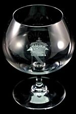 BACCARAT COLLECTIBLE FRENCH FRANCE CRYSTAL 5 INCH BRANDY ALCOHOL SNIFTER GLASS