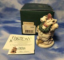 Signed Harmony Kingdom Slow Dance Solid Body Turtle Figurine Xxyclt Only 715 Nib