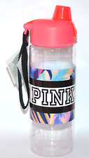 VICTORIA'S SECRET PINK COLLEGIATE TERMO TROPICAL PRINT WATER BOTTLE 32 FL OZ NWT