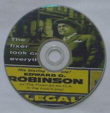 FILM NOIR 120: ILLEGAL 1955 Lewis Allen Ed G. Robinson Nina Foch Jayne Mansfield