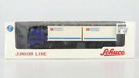 """SCHUCO JUNIOR LINE 1:87 MAN F2000 Container-Sattelzug """"DB Stückfracht"""", OVP, top"""