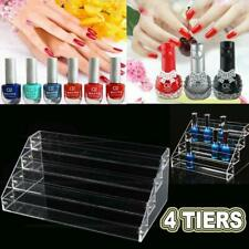 4 Tiers Nail Polish Display Stand Makeup Organizer Holder Rack Clear Acrylic Usa