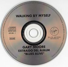 "GARY MOORE"" WALKING BY MYSELF"" ULTRA RARE SPANISH PROMOTIONAL CD"