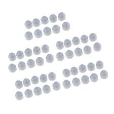 50 Pcs / Pack En Plastique Hexagonale Dôme Boulon Vis Écrou Protection