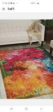 Nourison CES01 Celestial Rug160 by 220 cm Sea Glass new