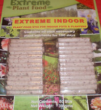 indoor plant food nutrient  sticks pack of 50 spikes fertilizer  TRACE  Elements