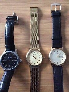 Mens Rotary Watches X 3 Job Lot