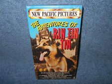 THE ADVENTURES OF RIN TIN TIN VHS - NEW SEALED