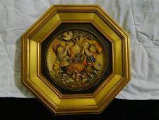 """Rare Hand Signed Mint Anri 12 3/4"""" Spring Dance Jubilee Plate Ferrandiz 653/2500"""