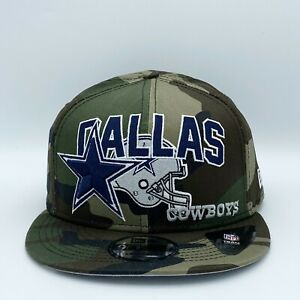 New Era 9FIFTY NFL Official On Field DALLAS COWBOYS Snap Back Camo Hat