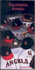 California Angels 1993 Media Guide