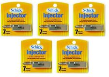 Schick Injector Blades - 7 Ct. (Pk of 5) + Eyebrow Trimmer
