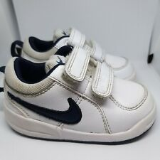 Nike Infant Toddler White Trainers Boys Size 4.5