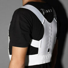 Magnetic Therapy Posture Corrector Body Back Pain Belt Brace Shoulder MX