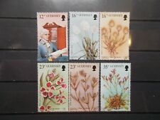 Guernsey 1988  Commemorative Stamps~Wild Flowers~Very Fine Used Set~UK Seller