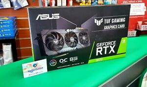 SCHEDA VIDEO NVIDIA RTX 3070 TUF GAMING OC 8GB NUOVA GPU NUOVA