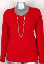 WOMEN'S OLD NAVY KNIT SWEATER Size XL  long sleeve red  NWT