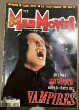 Mad movies magazine 112, john carpenter, dark city