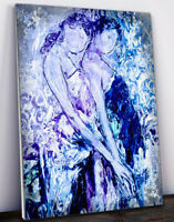 MARCO MARK - 'Blue Sisters' • Hand Varnished & Hand Signed Print On Canvas