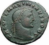 MAXIMINUS II DAIA Authentic Ancient 308AD Cyzicus Follis Roman Coin MARS i79321