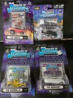The Original Muscle Machines 1/64 diecast LOT OF 4 CARS Die Cast!